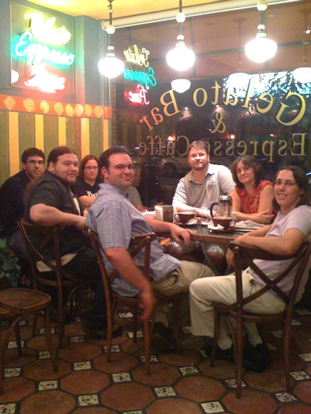 Photo: LA Friday Coffee Group form September 11, 2009 #tbt #throwbackthursday