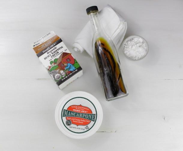 Mascarpone Whipped Cream
