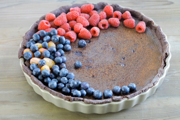 Chocolate Mocha Tart from Welcome2OurTable.com