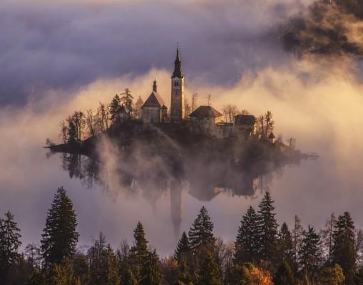 Достопримечательности Словении - Озеро Блед