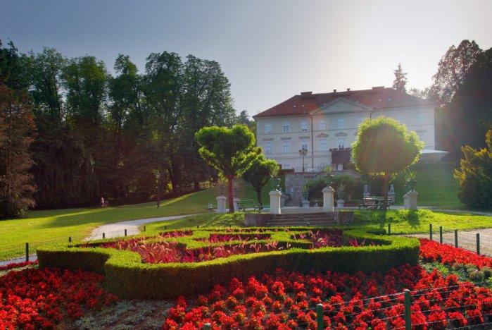 Парк Тиволи в Любляне