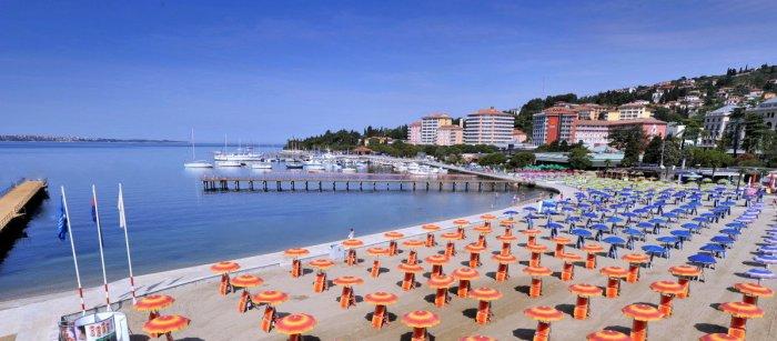 Пляж Порторож Словения