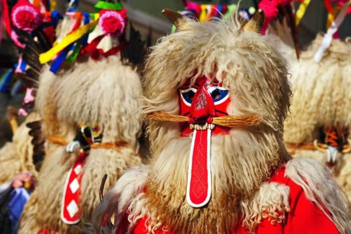 Курентованье - карнавал в городе Птуй Словения