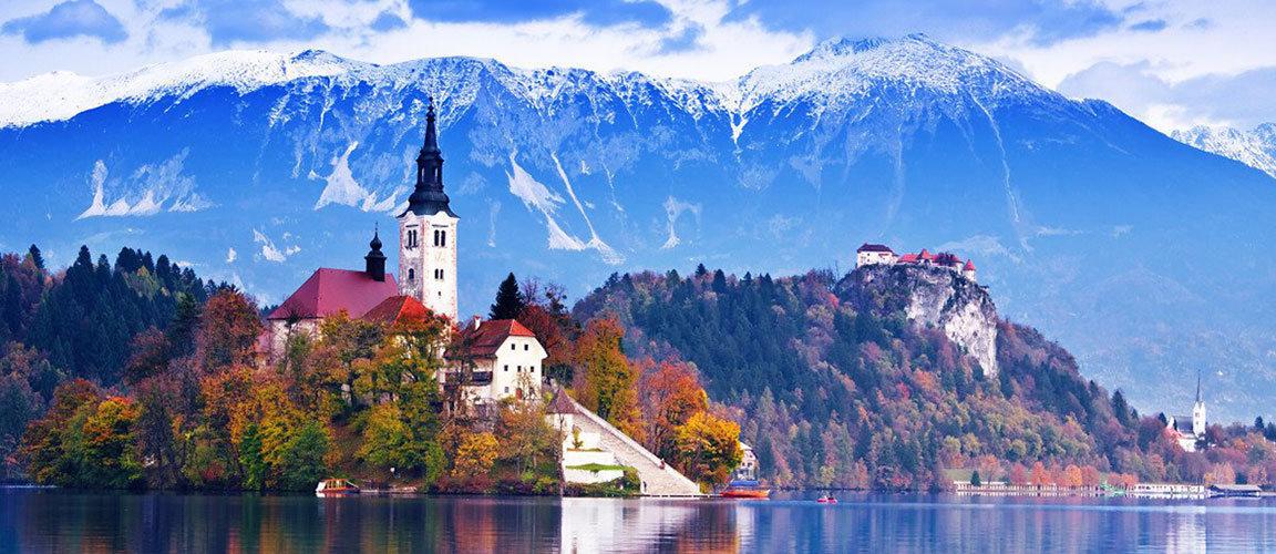 Озеро Блед - чудо Словении
