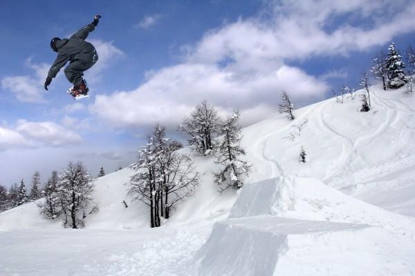Горнолыжные курорты Словении - Вогель - центр сноубординга в Словении