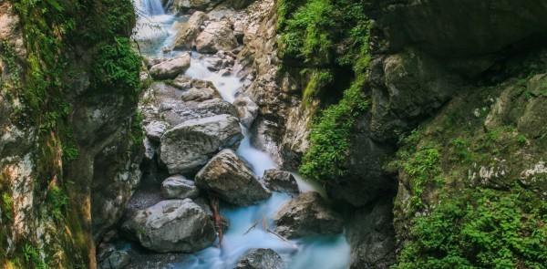Достопримечательности Словении - Ущелье Толмин