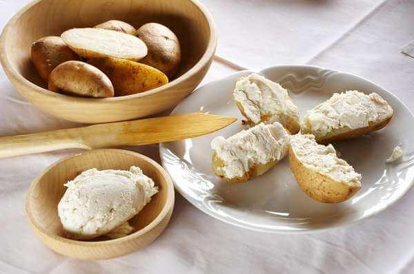 Кухня Словении - чомпе ан скута