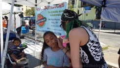 Artist & Craftsman Supply were on hand as one of the main sponsors and face-painting activities!