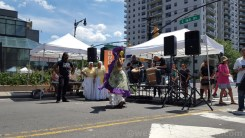 What's Boogie on the Boulevard without a little Bomba from Bombazo Dance Co?