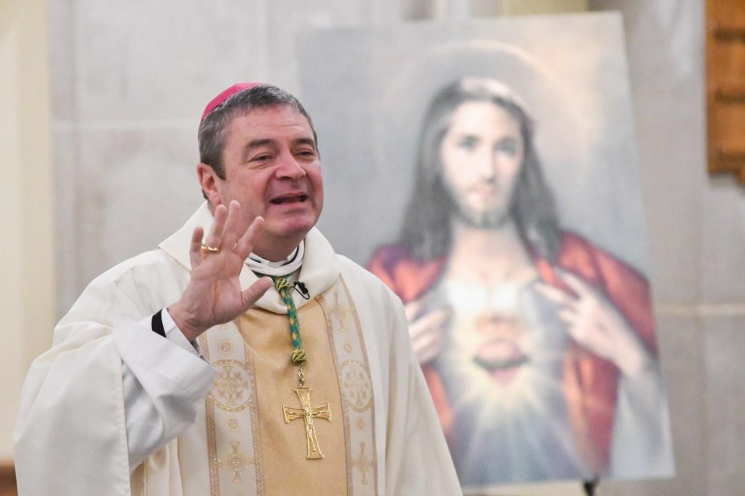 Bishop Brennan at the 2019 Sacred Heart Congress