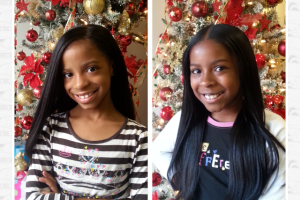 My Little Girls' Big Day at the Salon!