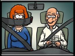 seat belt for back seat drivers