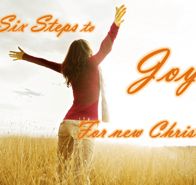 Now that I'm a Christian: Six Steps to Joy for New Believers