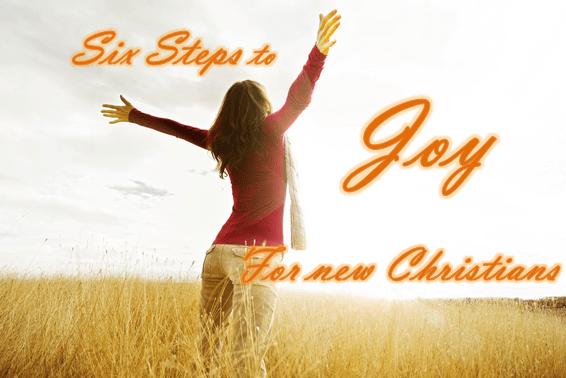 steps to joy - text
