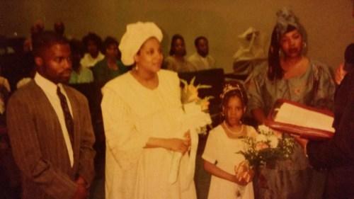 Shadell at my wedding
