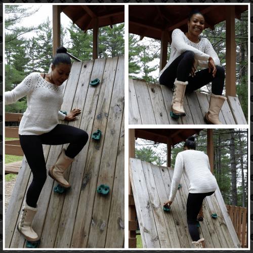 Ash rock climbing 2