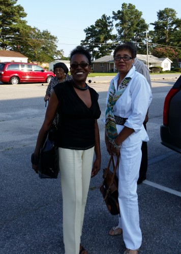 Mom and my Dads sister, Aunt Phyllis
