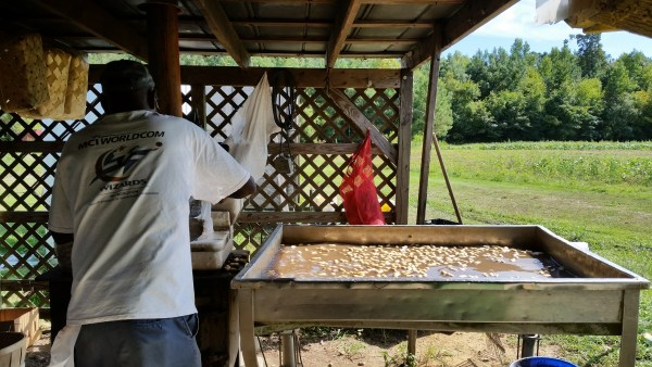 He left this earth, leaving behind my dad (and many other siblings), his own children, and a host of grandchildren who loved him dearly. The sentiments shared at this home going affirmed his faith and his love for family. boiled peanuts