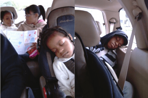 sleep in the car 2010