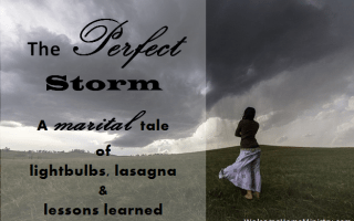 The Perfect Storm: A tale of light bulbs, lasagna and lessons learned