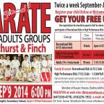 Registration Opened for 2014-2015 Children Karate Classes in Toronto