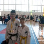 Welcome House Karate Kids at Karate Ontario Toronto Open-2014 Competition