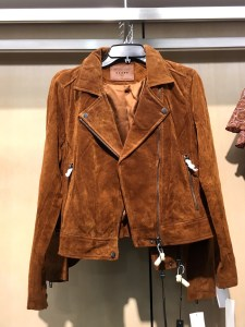 BlankNYC brown suede moto jacket, part of the Nordstrom Anniversary Sale.