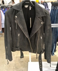 Topshop suede jacket, part of the Nordstrom Anniversary Sale