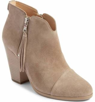 rag & bone Margot bootie in stone, part of the Nordstrom Anniversary Sale. It's a sexy looking boot with a side zip.
