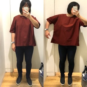 Uniqlo cotton blouse