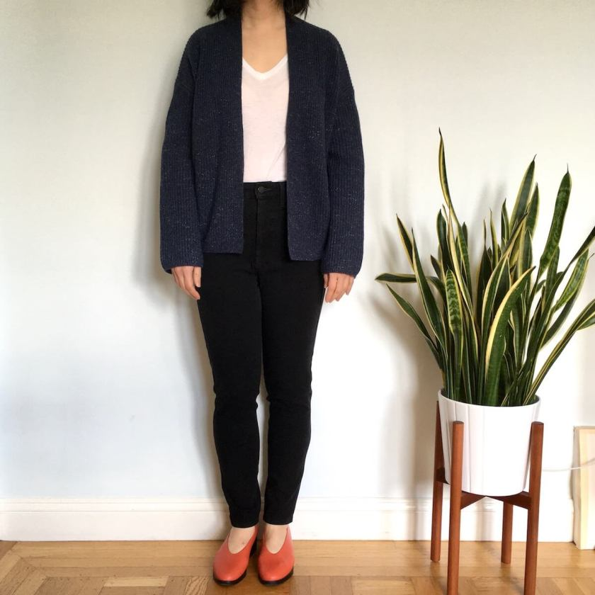 Everlane Review Twisted Merino Recashmere Varsity Cardigans Welcome Objects