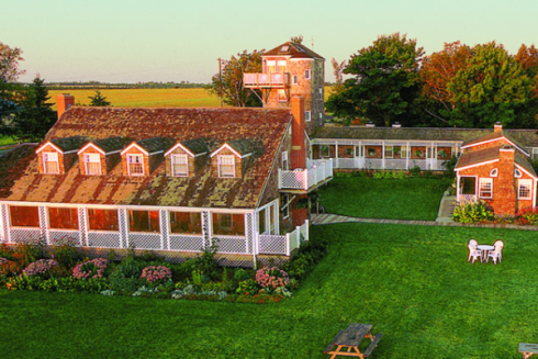 The Inn at Bay Fortune offers accommodations in Bay Fortune, Prince Edward Island