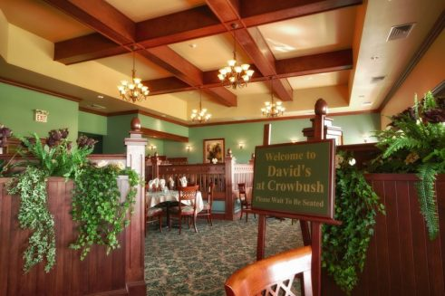 Enjoy the finest of dining at David's at Crowbush Restaurant.