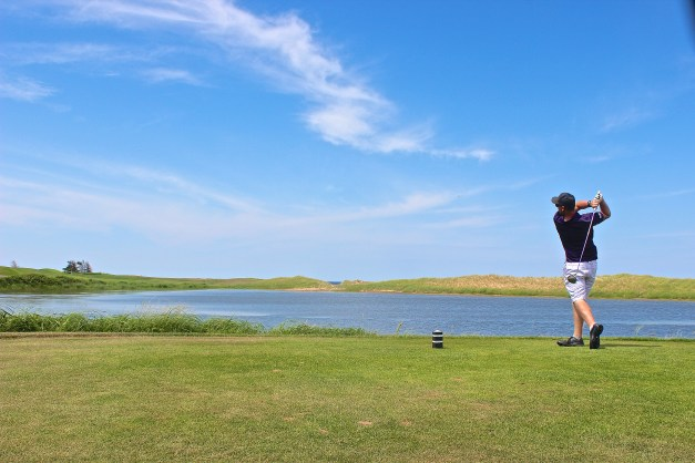 The Links at Crowbush Cove offer an exciting 18 hole championship golf course