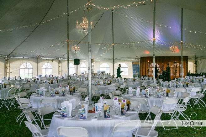 Tent Venue at Rodd Crowbush