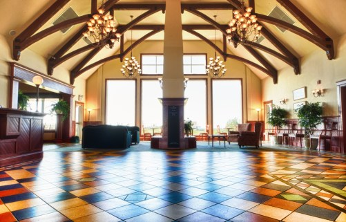 Lobby of Rodd Crowbush Golf & Beach Resort