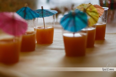 Vodka Caesars at the Rodd Lamb Luau