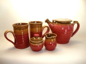 Cranberry Sienna from Village Pottery