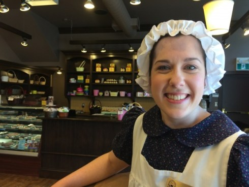 Anne of Green Gables Chocolates Staff, PEI