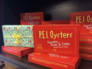 PEI Oysters at Anne of Green Gables Chocolates, Prince Edward Island