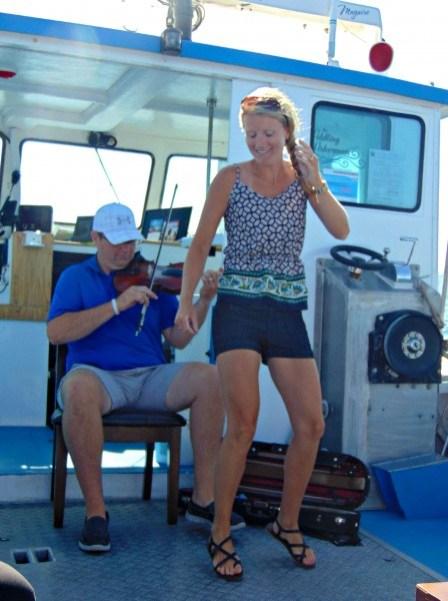 Dancing to The Fiddling Fisherman