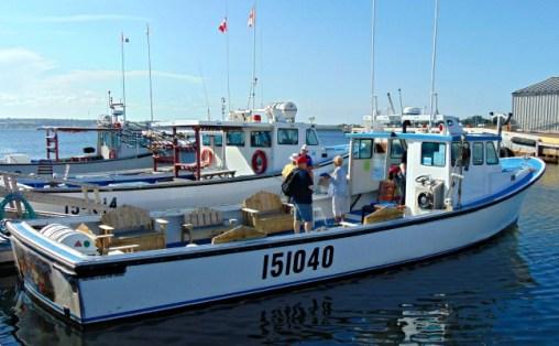 Fiddling Fisherman Boat, Souris PEI