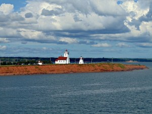 Wood Islands Lighthouse from the Ferry