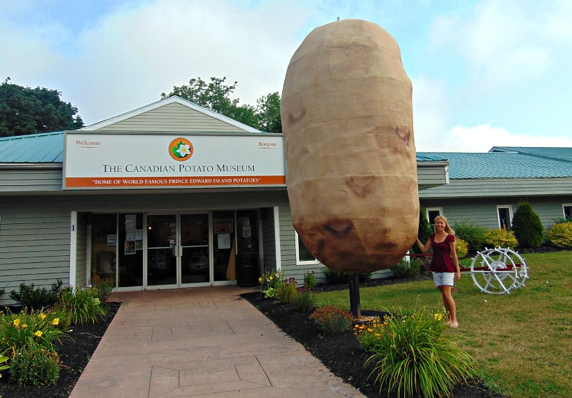 Canadian Potato Museum in O'Leary