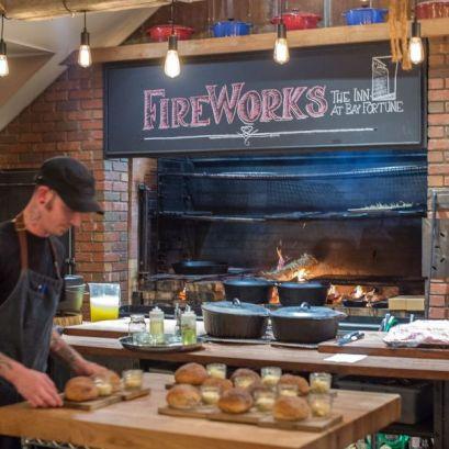 FireWorks, Inn at Bay Fortune