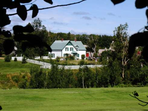 Green Gables House as seen from Green Gables Golf Course