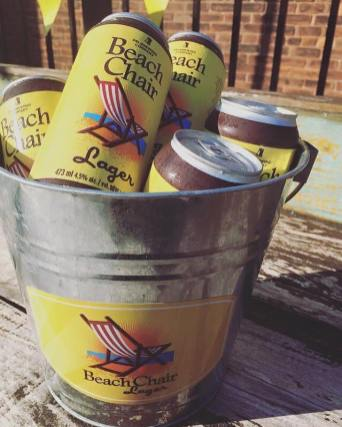 Fishbones Beach Chair lager bucket