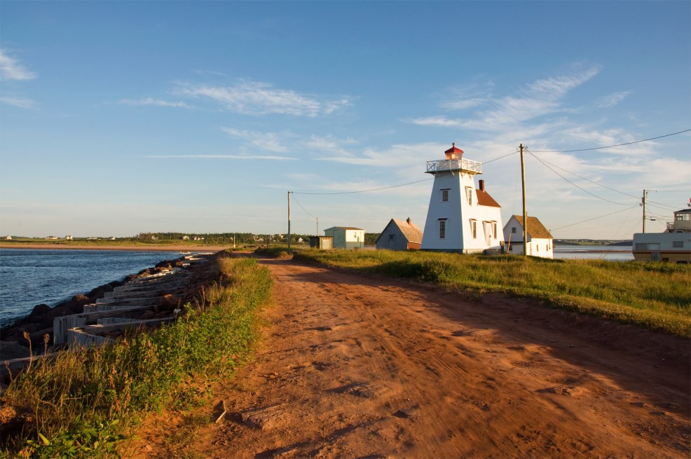 North Rustico Harbour Lighthouse, PEI