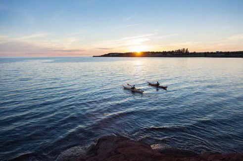 Canoe Cove Sunset Kayak, Photo By Stephen Harris