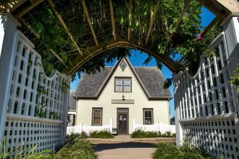 Facade of a house, Avonlea, Green Gables, Prince Edward Island, Canada